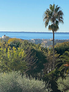 Appartement Antibes 2 pièces 45 m2 vue mer